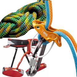 attrezzatura arrampicata